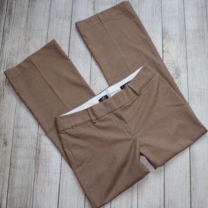 ANN TAYLOR LOFT Size 8P Brown Tan Pants Petite